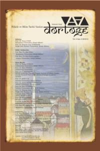 Dörtöğe Felsefe ve Bilim Tarihi Yazıları Hakemli Dergi Yıl:4 Sayı:8