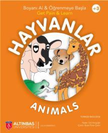 HAYVANLAR - ANIMALS / Boyama Kitabı