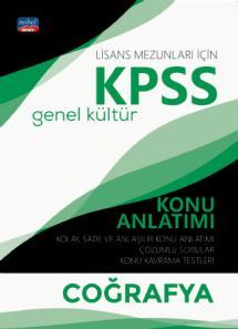 KPSS Genel Kültür COĞRAFYA Konu Anlatımı