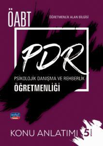 ÖABT PDR Psikolojik Danışma ve Rehberlik Öğretmenliği - Konu Anlatımı