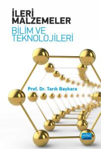İLERİ MALZEMELER - Bilim ve Teknolojileri