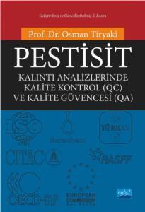 PESTİSİT Kalıntı Analizlerinde Kalite Kontrol (QC) ve Kalite Güvencesi (QA)